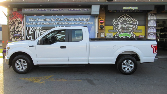 Ford F  Supercab Long Bed Full