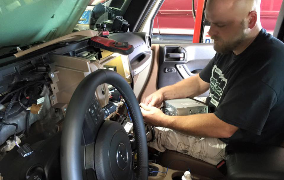We have a full service department as well as a full detailing department. Our services include, oil changes, brakes, tires, wheel alignment, bed liners, vehicle security systems and much more.