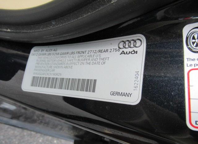 2012 Audi A6 Premium Plus Quattro full