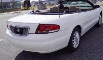 2002 Chrysler Sebring LX full