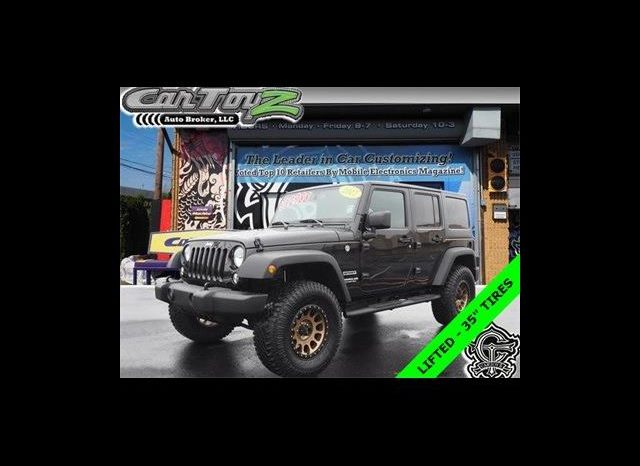 2017 Jeep Wrangler Unlimited Sport S full