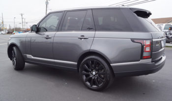 2016 Land Rover Range Rover Supercharged full